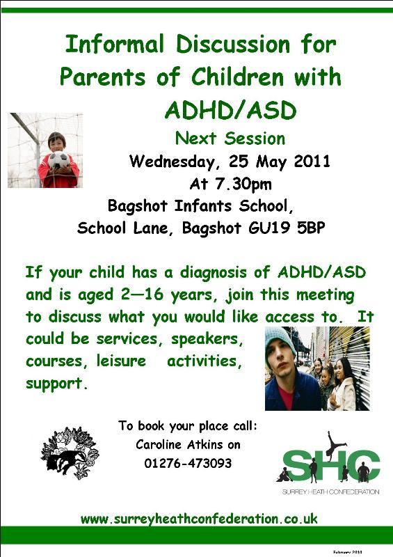 Parents of Children with ADHD/ASD